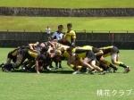 関西クラブ選手権 VS刈谷クラブ スクラムの攻防