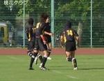 岡山県リーグ VS川福 BK
