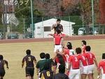 2009.12.6VS岡山クラブ クリーンキャッチ求。