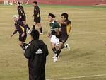 2009.12.6VS岡山クラブ 修太のキック