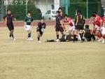 2009.12.6VS岡山クラブ ボールアウトする昇