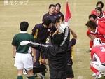 2009.12.6VS岡山クラブ ラインアウト