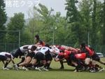 岡山県予選決勝 VS倉敷中央病院 スクラム