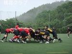 練習試合 VS広島クラブ スクラム