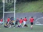 練習試合 VS広島クラブ 突破する大塩。