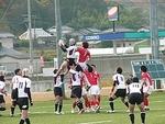 2010年最終戦vs岡山クラブ ラインアウト和家どん