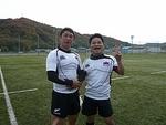 2010年最終戦vs岡山クラブ 永木&伊賀