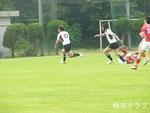 2011.6.5岡山県決勝 VS岡山クラブ 抜ける永木