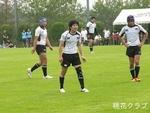 2011.6.5岡山県決勝 VS岡山クラブ キンタ、浅野、下島、岡本