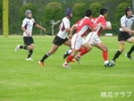 2011.6.5岡山県決勝 VS岡山クラブ DFする浅野、大吉、コバ