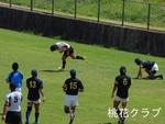 岡山県リーグ2012 VS岡山大学 永木中央にトライ