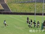 岡山県リーグ2012 VS岡山大学 タケシゴールキック