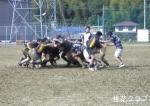 県リーグ岡大戦 スクラムの攻防