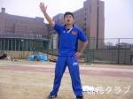 タッチフット大会選手宣誓をする藤田求