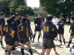vs芦屋クラブ 試合後ミーティング